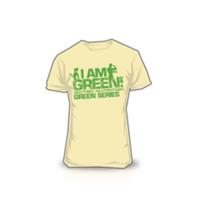 SCITEC NUTRITION T-Shirt I Am Green férfi homok színű póló XXL Scitec  Nutrition eafffd4197