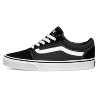 Vans WM Ward Suede/Canvas Black/White női sportcipő, 40, fekete