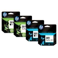 HP HP 301 Ink Cartridge Combo 2-Pack N9J72AE (Eredeti)