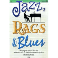 JAZZ RAGS BLUES BOOK 3 PIANO – Martha Mier