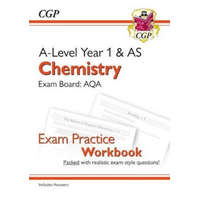 New A-Level Chemistry: AQA Year 1 & AS Exam Practice Workbook - includes Answers – CGP Books