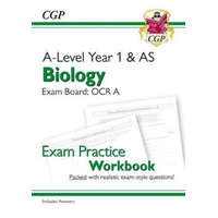 New A-Level Biology: OCR A Year 1 & AS Exam Practice Workbook - includes Answers – CGP Books