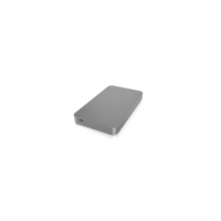 Icy Box IcyBox External enclosure for 2,5'' SATA HDD/SSD 9.5mm USB 3.1 Type-C ezüst (IB-245-C31)