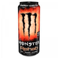 Monster energiaital 500 ml Rehab Energy Iced Tea peach