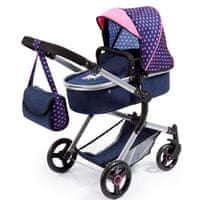 Bayer Design Bayer Design Combi babakocsi játékbabáknak kék rózsaszín 2d09fafe18