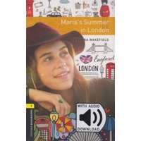 Rowena Wakefield Maria's Summer in London - Oxford Bookworms Library 1 - MP3 Pack