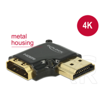 Delock adapter HDMI (F) - HDMI (M) 4K with Ethernet 90°